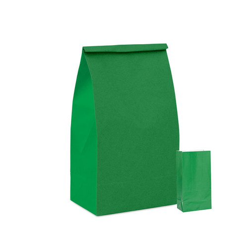 Forest Green Paper Party Bag