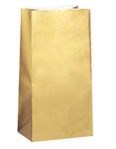 Gold Metallic Paper Party Bag