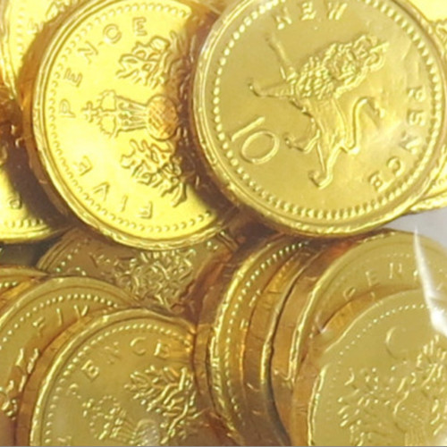 Milk Chocolate Coins for Party Bags