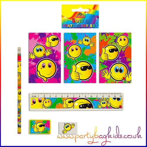 Smiley Face Stationery Set