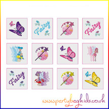 Fairy Tattoos for Party Bags