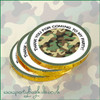 Camouflage Chocolate Coin Stack