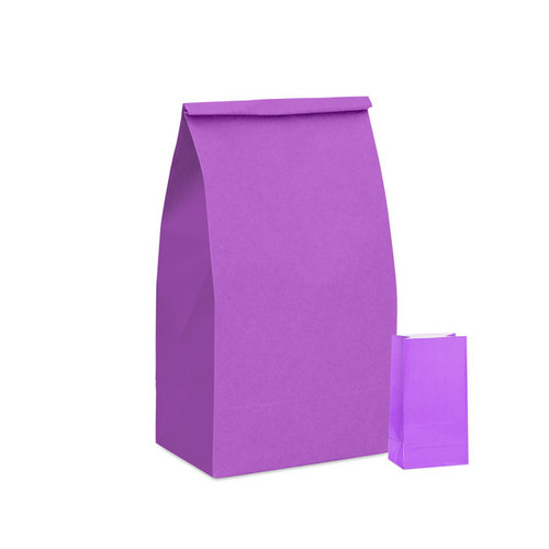 Lilac Paper Party Bag