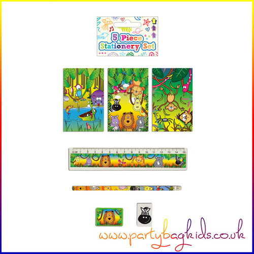 Jungle Face Stationery Set