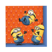 Despicable Me Themed Party Napkins