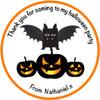 Pumpkins Party Label