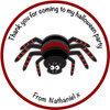 Spider Party Label