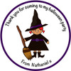 Witch Party Label