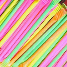 Sherbet Filled Straws
