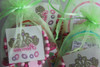 Green Pamper Party Bag Close Up