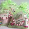 Pamper Party Bag in Green