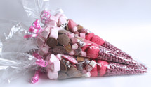 Valentines Themed Candy Cone