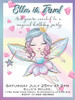 Fairy with Wand Party Invitation