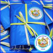 Noah's Ark Personalised Pre-Filled Party Bag in Royal Blue