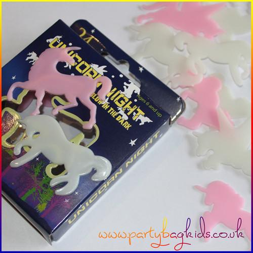 Box of Unicorn Stick-Ons