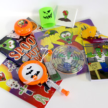 Multi pack halloween party bag fillers and prizes