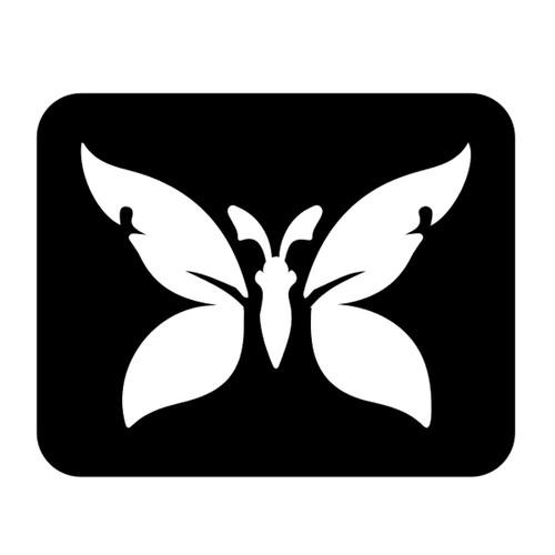 Butterfly Stencil  D2
