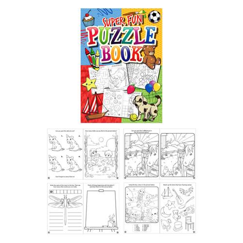 Super Fun Puzzle Booklet