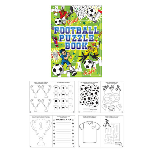 Football Puzzle Booklet