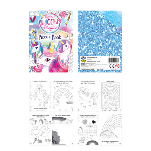Unicorn Puzzle Booklet