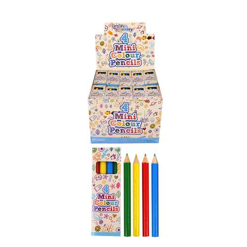 Bulk Buy CDU Mini Pencil Crayons