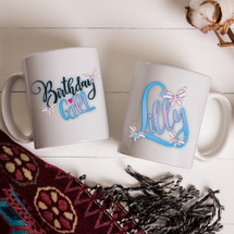 Butterflies Birthday Mug