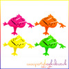 Neon Jumping Frogs