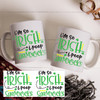 I'm so Irish I Poop Shamrocks Coffee Mug