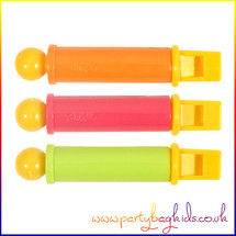 Neon Mini Slide Whistles
