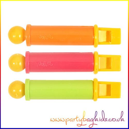 Neon Mini Slide Whistles