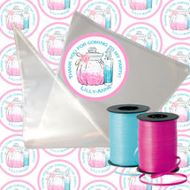 Pamper party candy cone kit