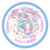 Fairy Friends Candy Cone Sticker