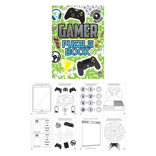Gamer Puzzle Booklet