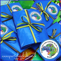 Gamer Personalised Party Bags in Royal Blue