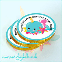 Under the Sea Chocolate Coins