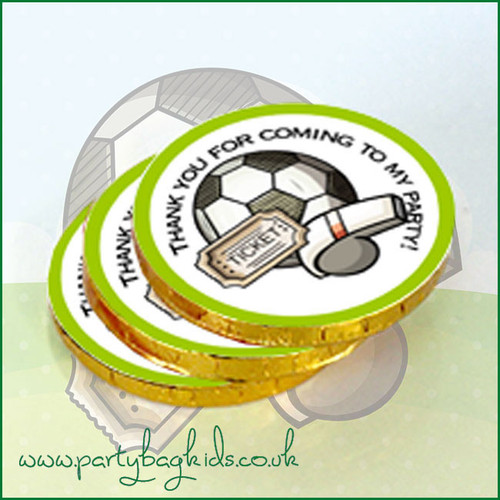 Football Whistle Chocolate Coins