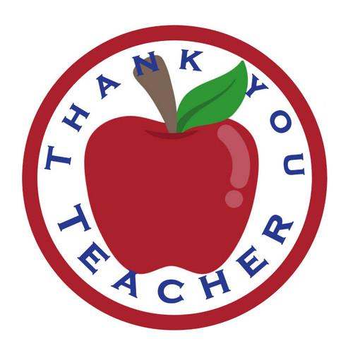 Thank You teacher Gift Seals