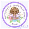 Fairy Princess Sticker Design