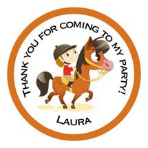 Pony Party Stickers