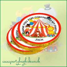 Circus Chocolate Coins