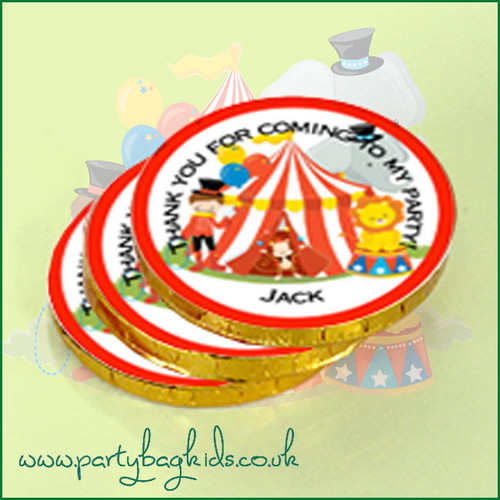Circus Chocolate Coins