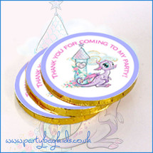 Fairy Tale Dragon Chocolate Coins