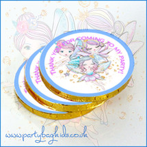 Fairy Friends Chocolate Coins