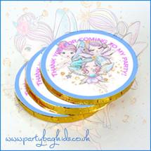 Fairy Friends Chocolate Coins
