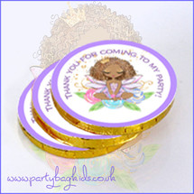 Fairy Princess Chocolate Coins