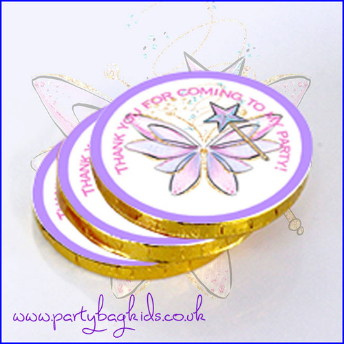 Fairy Wings Chocolate Coins