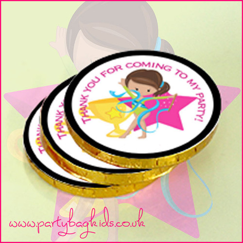 Gymnasts Chocolate Coins