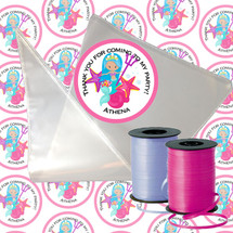 Mermaids with Trident Candy Cone Kit