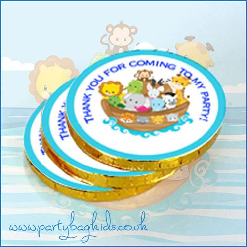 Noah's Ark Chocolate Coins