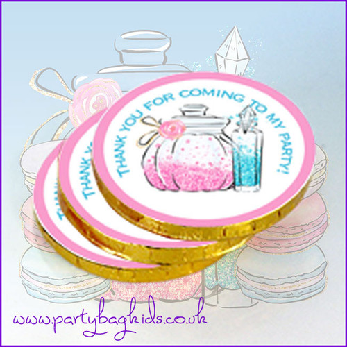Pamper Party Chocolate Coins